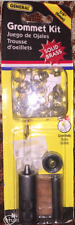 "General Tools 1/4"" Grommet Kit #71260 Solid Brass ...  NEW"