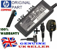 Genuine HP Laptop Charger Blue Tip 19.5V 3.33A Original Adapter & Power Cord