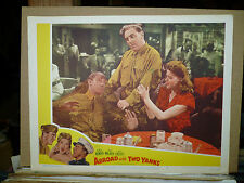 ABROAD WITH 2 YANKS, re1950 LC #4 (William Bendix, Helen Walker, Dennis O'Keefe)