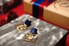 HANDMADE! Lapis Lazuli Gemstone Earrings 10140