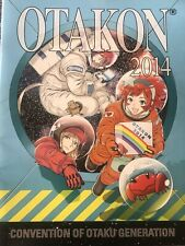 OTAKON 2014 Anime Convention Program Guide Book