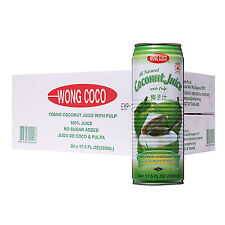 Wong Coco All Natural Coconut Juice With Pulp
