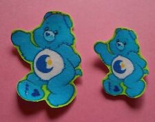 Care Bears ~ 2 X Bedtime Bears ~ iron on patches Applique ~ #4