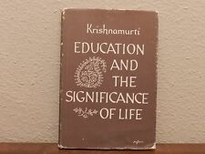 """Book, """"Education And The Significance Of Life"""", Krishnamurti"""