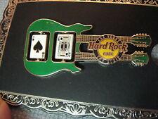 Hard Rock Cafe HRC Black Jack Spinner Guitar Pin - Las Vegas The Strip