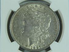 1897 O Morgan Silver Dollar NGC AU53 Better Date