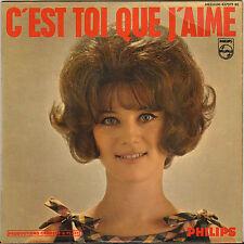 """SHEILA """"C' EST TOI QUE J' AIME"""" EP 60'S PHILIPS 437.079"""
