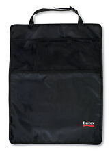 Britax Kick Mats (2-Pack, Black) Baby, Kids seat protector washable, toy Pockets