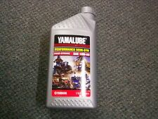 Yamalube Performance Semi-Synthetic Four Stroke, SAE 10W-50, Yamaha Oil, 1 Quart