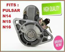 Starter Motor to fit Nissan Pulsar N14 N15 N16 1.6L 1.8L Petrol GA16DE QG16DE QG