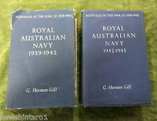 #ZZ5.  17  VOLUMES AUST. WAR MEMORIAL  BOOKS - AUSTRALIA IN THE WAR OF 1939-1945