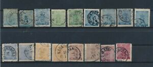 D141051 Sweden Coat of Arms Nice selection of Used to VFU Used stamps