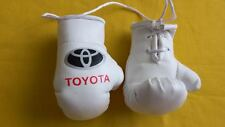 TOYOTA Mini Boxing Gloves for Car Trucks Bus Jeeps SUV RV decor rear-view mirror