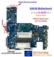 New Lenovo G40-80 ACLU3/ACLU4 UMA NM-A362 CPU i3-4030U GPU Motherboard