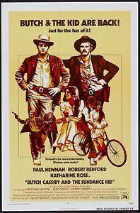 Butch Cassidy and the Sundance Kid Movie Poster A0-A1-A2-A3-A4-A5-A6-MAXI 252