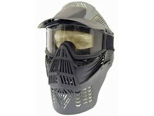 P-Force Recticular Full Face Lens Black Airsoft Mask