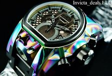 Invicta Men's Reserve 52mm Bolt Zeus MAGNUM Swiss Chronoraph Dual Time SS Watch