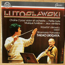 Witold Lutoslawski - Filharmonia Pomorska - Takao Ukigaya - CD neu