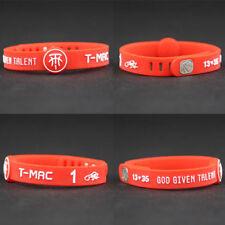 Tracy Mcgrady  Silicon Bracelet Basketball adjustable Wristband Strap