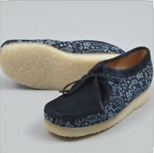 Clark's Wallabee Blue Combi Size 4.5 (37.5) Womens