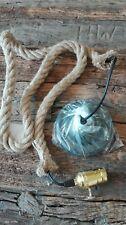 Deko Seil Tau als Hänge Decken Lampe verwendbar mit Fassung 150 cm