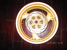 DUCATI oem REAR WHEEL  & ROTOR 5 1/2 inch x 17 750/900  SS MONSTER 17mm axle