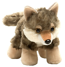 "Wild Republic Hug'ems 7"" /18cm Wolf Cuddly Soft Toy Teddy 16244"