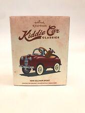 Hallmark Kiddie Car Classics 1949 Gillham Sport Keepsake Collectible Ornament