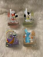 New Epcot 2020 Food And Wine Festival Passholder Rocks Glasses Set Of 4 Figment
