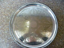 Post - 1940 Antique Silver Plates/Platters/Trays