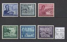Deutsches Reich, Michel Nr. 888 - 893 (Kameradschaftsblock) tadellos postfrisch.