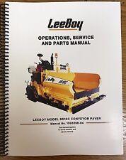 heavy equipment manuals books for leeboy conveyor ebay rh ebay com Blaw Knox Paver Asphalt Driveway with Pavers