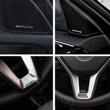 4x AMG Volante EMBLEMA SCRITTA LOGO BADGE A B C E SL CLS S CL SL ML CLA Sticker