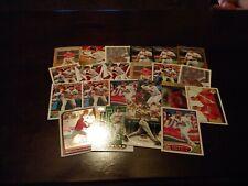 Lance Berkman 22 card lot Houston Astros and St. Louis Cardinals