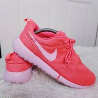 Nike Womens Roshe Run Orange Running Shoes Sneakers 511882-660 Sz UK 6 EUR 40