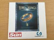 Lord of the Rings Game - Special Edition LOTR The Sun - PC CD-ROM