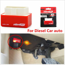 NITRO OBD2 OBD DIESEL CAR PERFORMANCE CHIP  PLUG AND DRIVE TUNING BOX INTERFACE