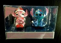 2 Disney LILO & STITCH Deko Kugel Weihnachts Anhänger Baum Schmuck Ornament