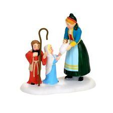 Children's Nativity Dept 56 Alpine Village 4056622 Christmas accessory snow A