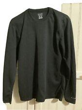 Men's Columbia Omni Dry T shirt Long Sleeve Black Size Small