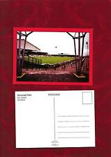 Postcard - Ayr United home ground Somerset Park