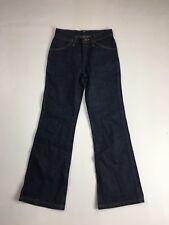 """WRANGLER """"Flare"""" Jeans-W25 L27-Marine Foncé-Très bon état"""