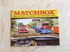 Matchbox Collector's Catalogue, U.S.A. Edition,1969 new old store stock