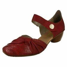 Ladies Rieker Block Heel Casual Shoes 43722-35