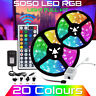 LED Strip Light RGB 5050 SMD 3528 Flexible Ribbon RGB Stripe 5M 10M 15M Tape Kit
