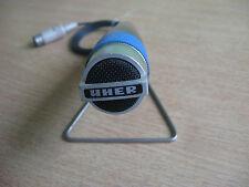 Mikrofon UHER m.Tischstativ,  vintage aus den 1960 / 70ern Tonbandgerät  RAR