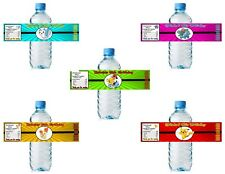 (20) Personalized Minecraft 2 X 8 Weatherproof Water Bottle Labels Party Favors