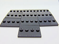 LEGO-MINIFIGURES SERIES 1,2,3,4,5,6,7,8,9,10,11,12,13 X 1O NEW BLACK BASES PARTS