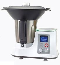Multifunktions-Küchenmaschine mit Kochfunktion, Dampfgaraufsatz und Waage -