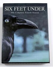 Like New - Six Feet Under - The Complete Fourth Season (DVD, 2005, 5-Disc Set)